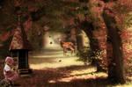 Pinkish autumnal november-by-GothLyllyOn-MMXVI