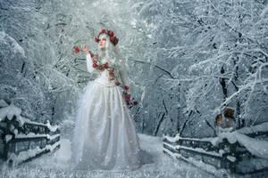 Winter Roses-by-GothLyllyOn-JanuaryMMXVII by GothLyllyOn