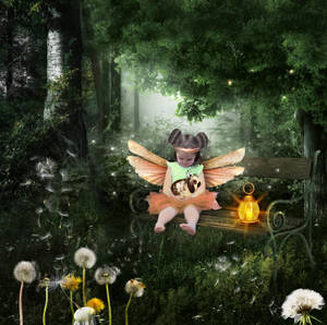 Xalyna in the Forest-by-GothLyllyOn-MMXVII
