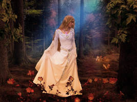 Twilight in Summer Forest-by-GothLyllyOn-JuneMMXVI by GothLyllyOn