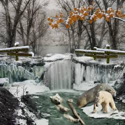 Enjoying the Snowfall-by-GothLyllyOn by GothLyllyOn