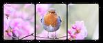 F2U Decor Spring Bird by GothLyllyOn