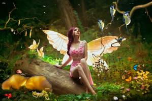 Fairy Spring-by-GothLyllyOn-MMXIX by GothLyllyOn