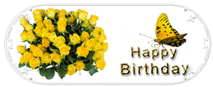 F2U|Decor|Happy Birthday-GothLyllyOn by GothLyllyOn