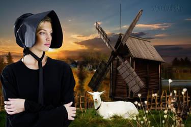 Amish village by GothLyllyOn