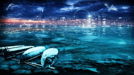 The Frozen Lake by GothLyllyOn