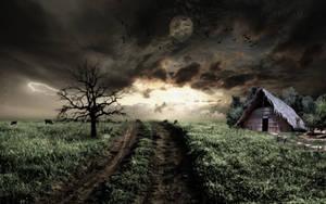 Bleak Field by GothLyllyOn