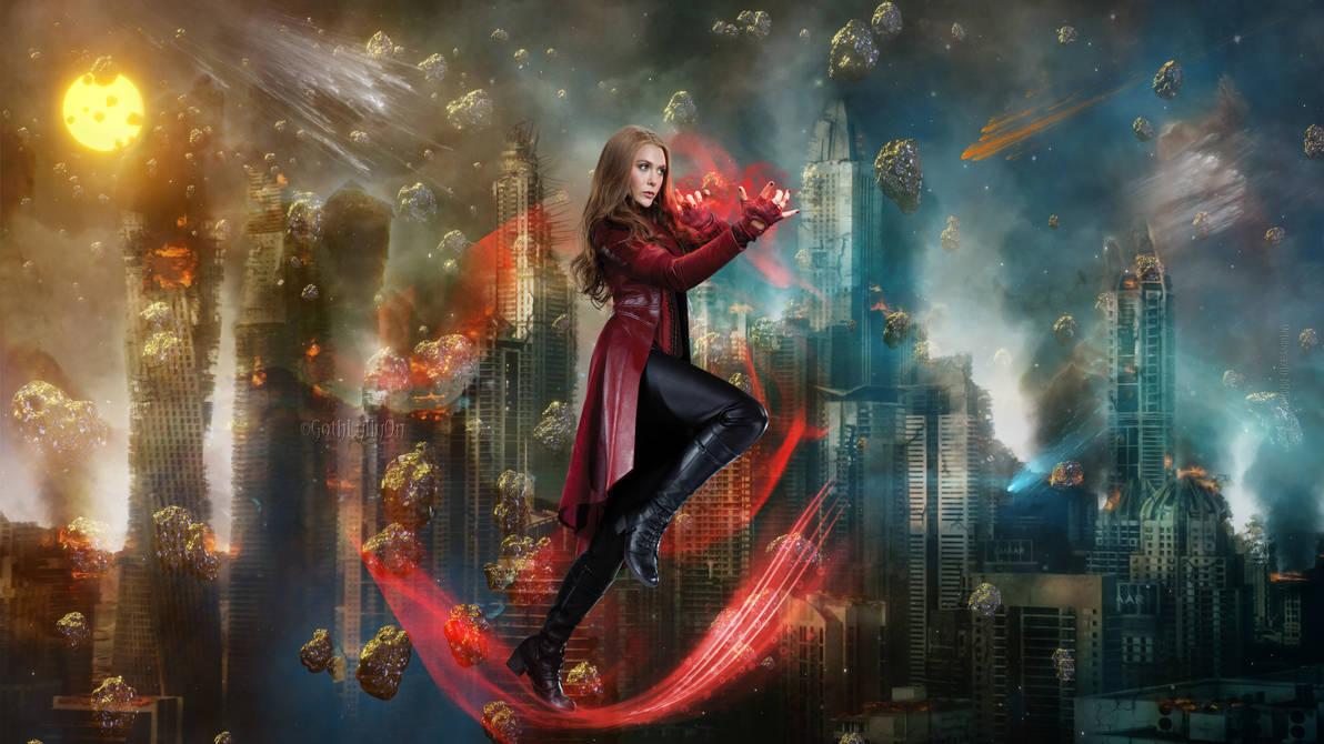 Wallpaper 5k Scarlet Witch