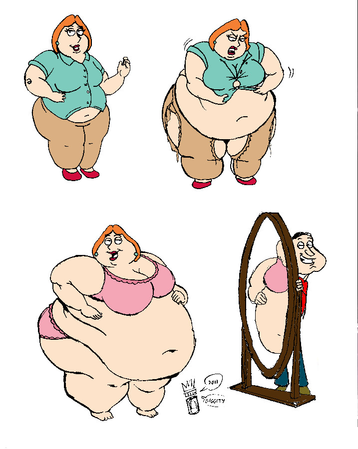 louis gets fat family guy № 265320