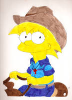 Cowgirl Maggie by Locke831