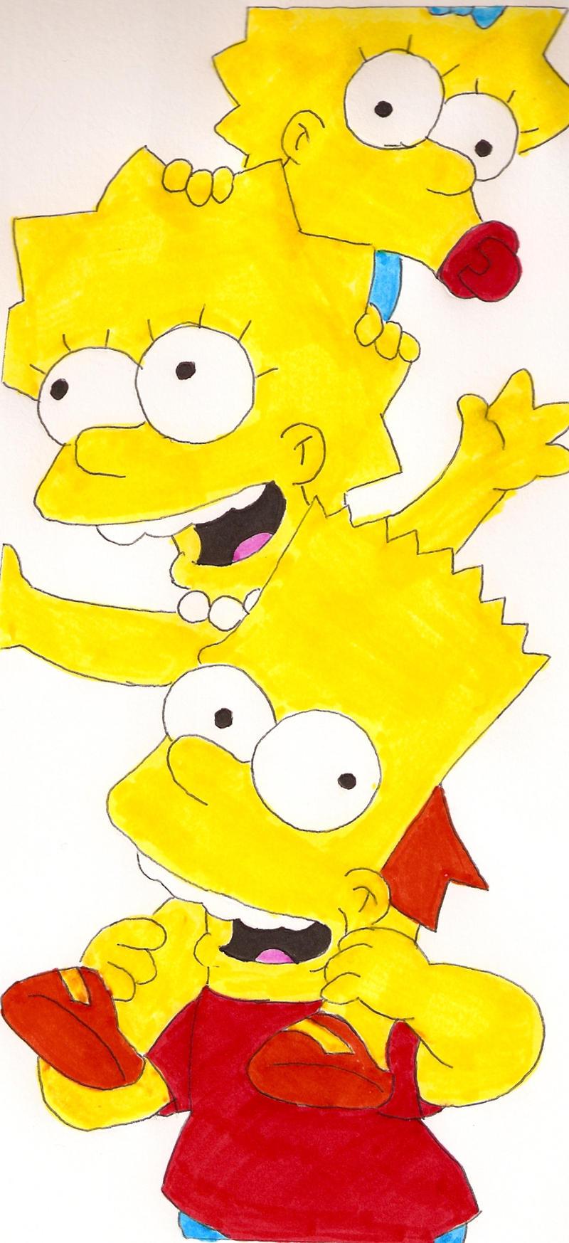 Simpson Piggyback by Locke831