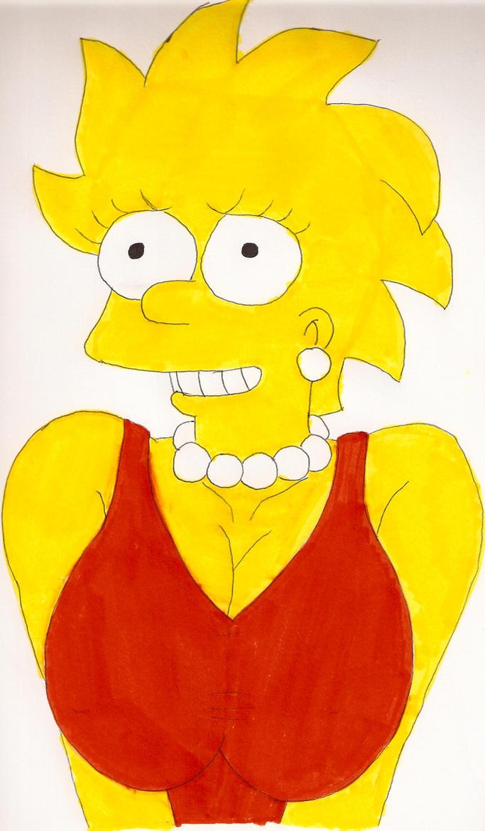 Busty Lisa 2 by Locke831