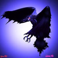 Raven3 by OjisanDraws