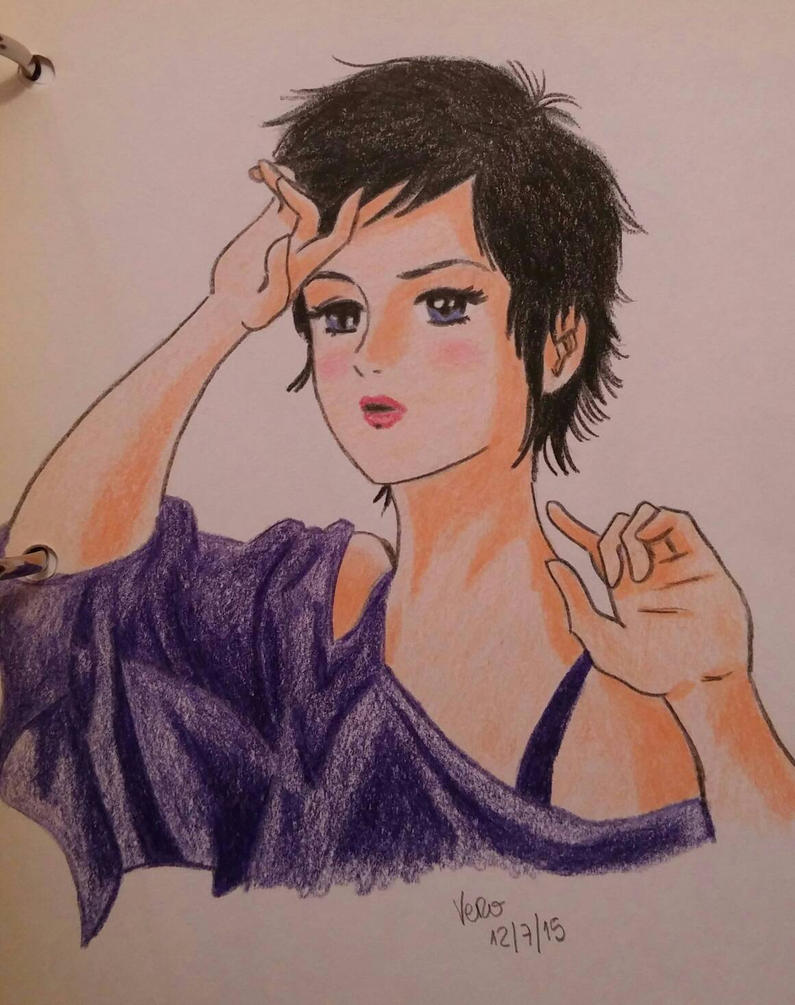 Manga girl by vero252