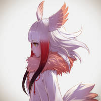 Crested Ibis / Yokogao Friends