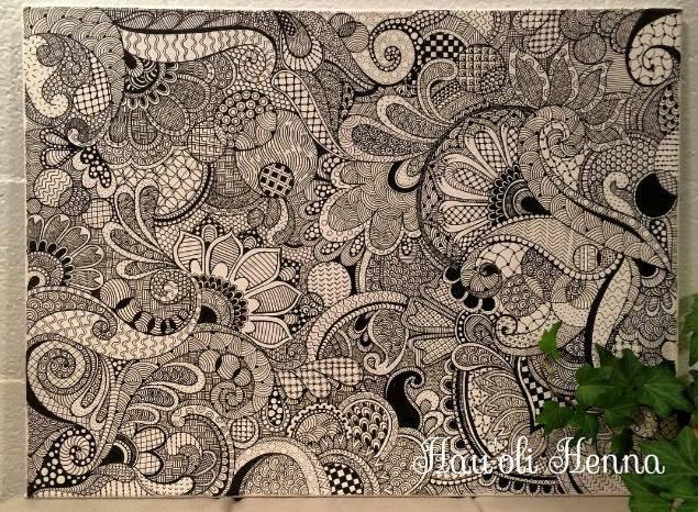 Zentangles by Hauolihenna
