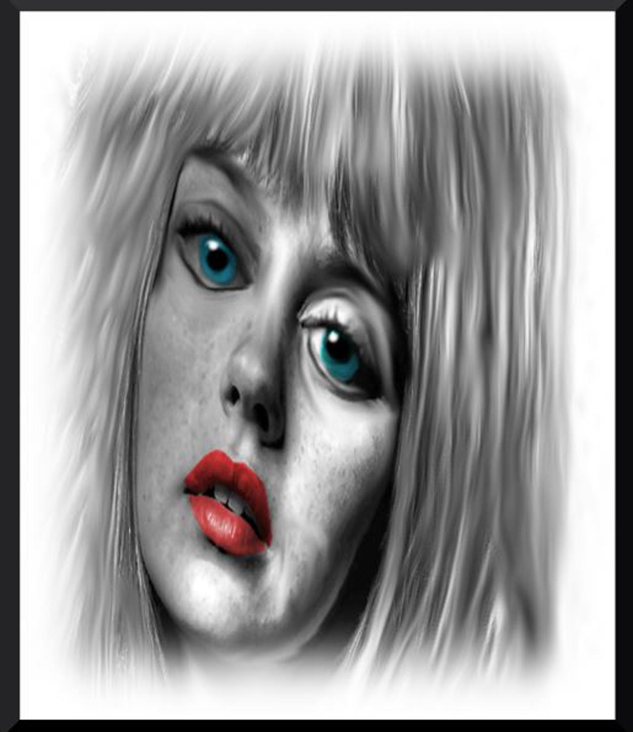Blue eyes by mikestevenson1955