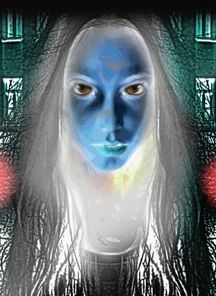 Blue...just blue. by mikestevenson1955