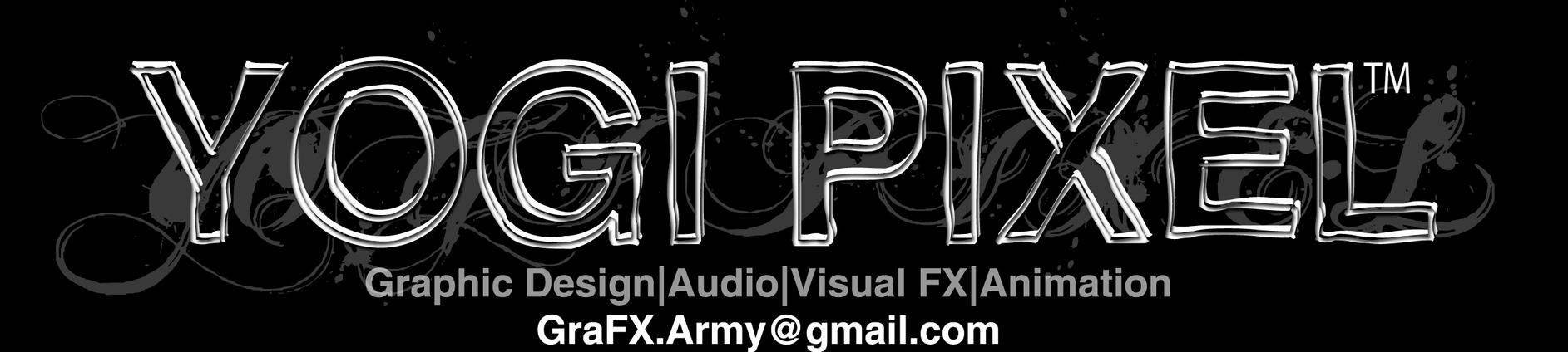 Yogi Pixel eBizCard by METVTRON