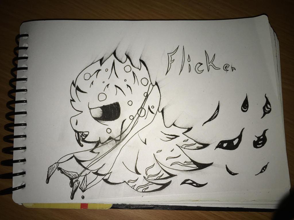 Inktober Day 3 (Poison : Flicker) by TempLily