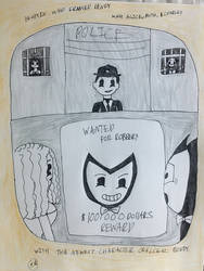 Bendy in Who Framed Bendy by SadnessFemBoy2016
