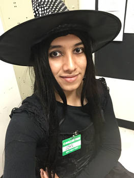 Went to work as a witch