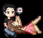 Commission: Cute Couple