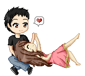 Commission: Cute Couple by May-Itou