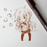Day 2: Bubbles - InkTober