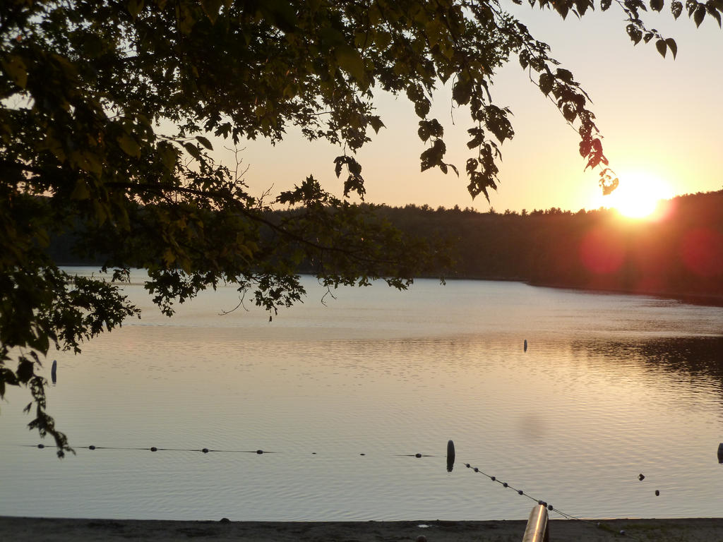 Walden Pond at Sunset by Wintersmith6