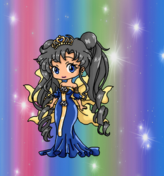 BSSM Chibi Queen Nobility: Colored by XNekoXMika