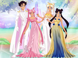 BSSM Earth and Moon Family: Doll Version