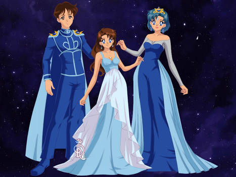 BSSM Mercury Family: Doll Version