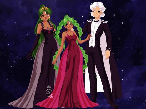 BSSM Pluto Family: Doll Version