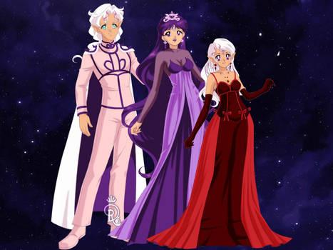 BSSM Saturn Family: Doll Version