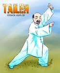 Professor Wu praticando TaiChi