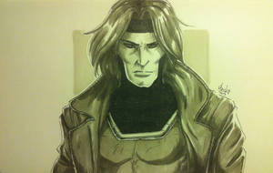 Gambit (Quick Sketch) by beckzera