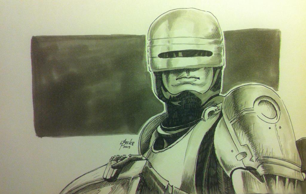 Robocop (Quick Sketch)