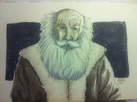 Santa Claus (Quick Sketch) by beckzera