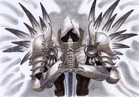 Tyrael from Diablo III by beckzera