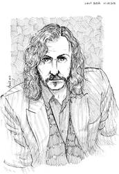 Sirius Black (sketch) by beckzera