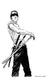 Zoro from One Piece by beckzera