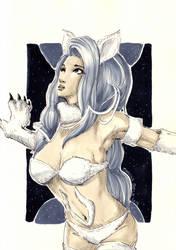 Felicia from Darkstalkers by beckzera