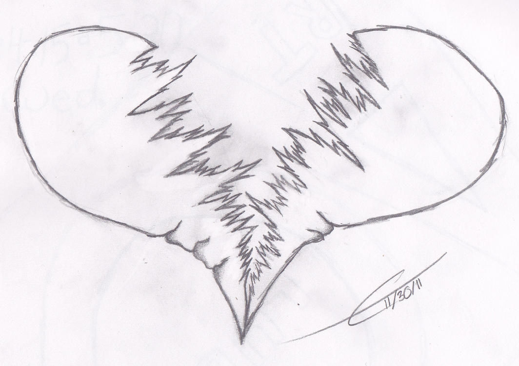 Awesome Drawings Of Broken Hearts Images amp Pictures Becuo
