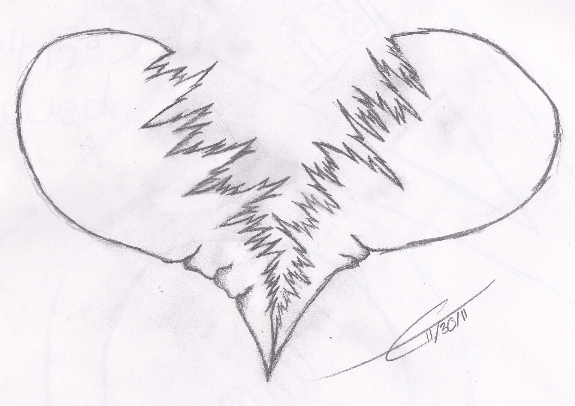 Easy Broken Heart Drawings Images amp Pictures Becuo