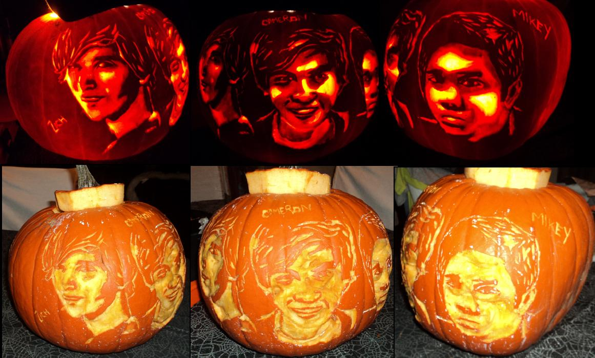 Allstar Weekend Pumpkin Carving by ashleymenard122