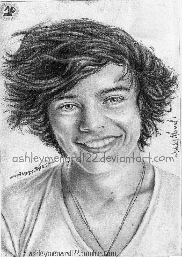 Harry Styles Drawing 1 by ashleymenard122 on DeviantArt