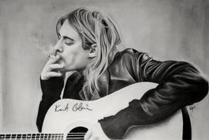 Kurt Cobain by ashleymenard122