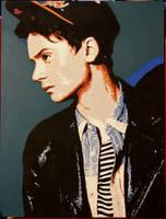Conor Maynard painting by ashleymenard122