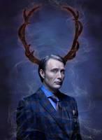 Hannibal Lecter Digital Painting